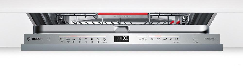 Ảnh bảng điều khiển máy rửa bát  Bosch SMV68TX04E