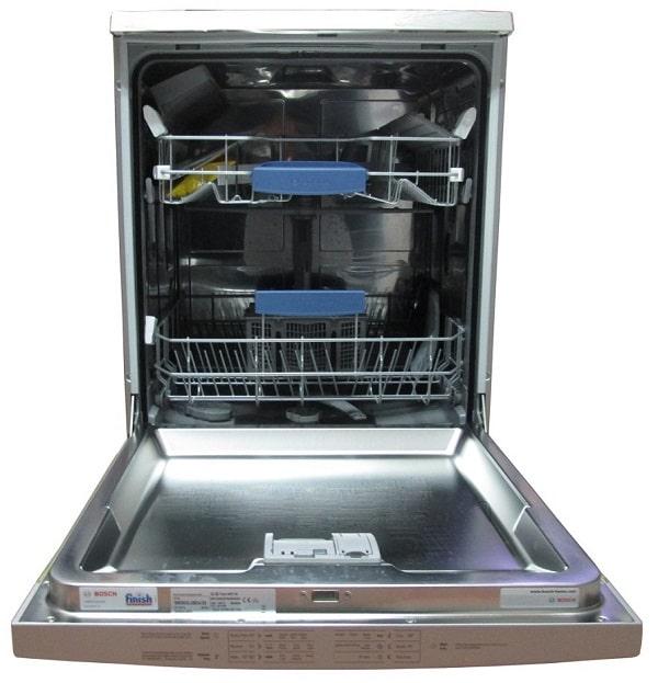 Cách lắp ống dẫn nước của máy rửa bát Bosch SMS63L08EA