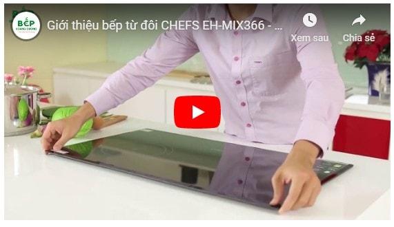 Video giới thiệu bếp từ đôi CHEFS EH-MIX366