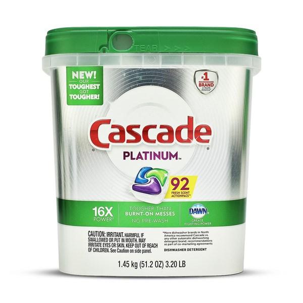 Viên rửa chén cascade có hiệu suất tẩy rửa tuyệt vời và nằm trong nhóm được yêu thích nhất