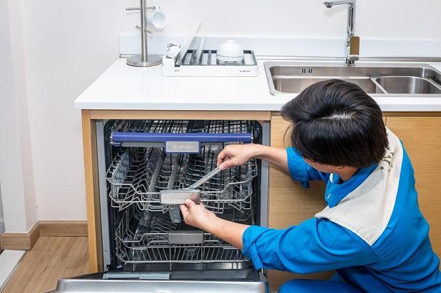 Một số lỗi của máy rửa bát có thể sửa dễ dàng và tự làm tại nhà