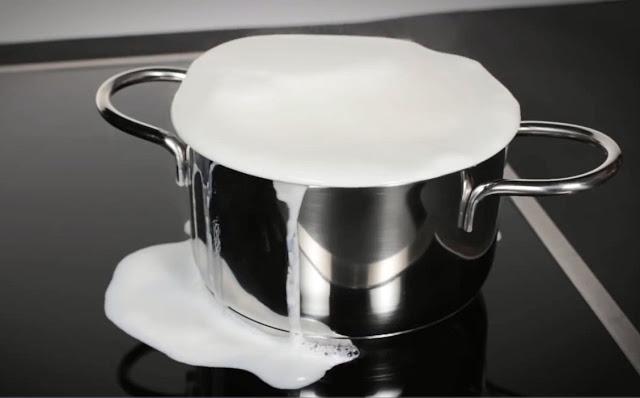 Tính năng chống tràn của bếp từ giúp thuận tiện hơn trong quá trình nấu nướng