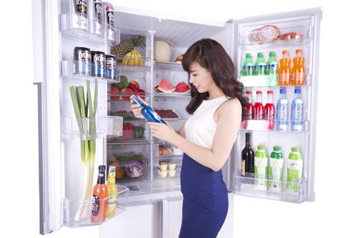 Không bao giờ cho thức đang nóng vào tủ lạnh