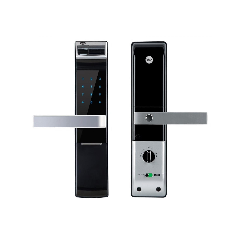 Khóa cửa vân tayYDM 4109tích hợp các tính năng quan trọng khác như cảm biến nhiệt độ, báo động khi nhiệt độ bên trong cao hơn 60oC