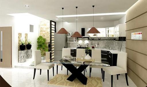Không gian bếp hiện đại và sang trọng