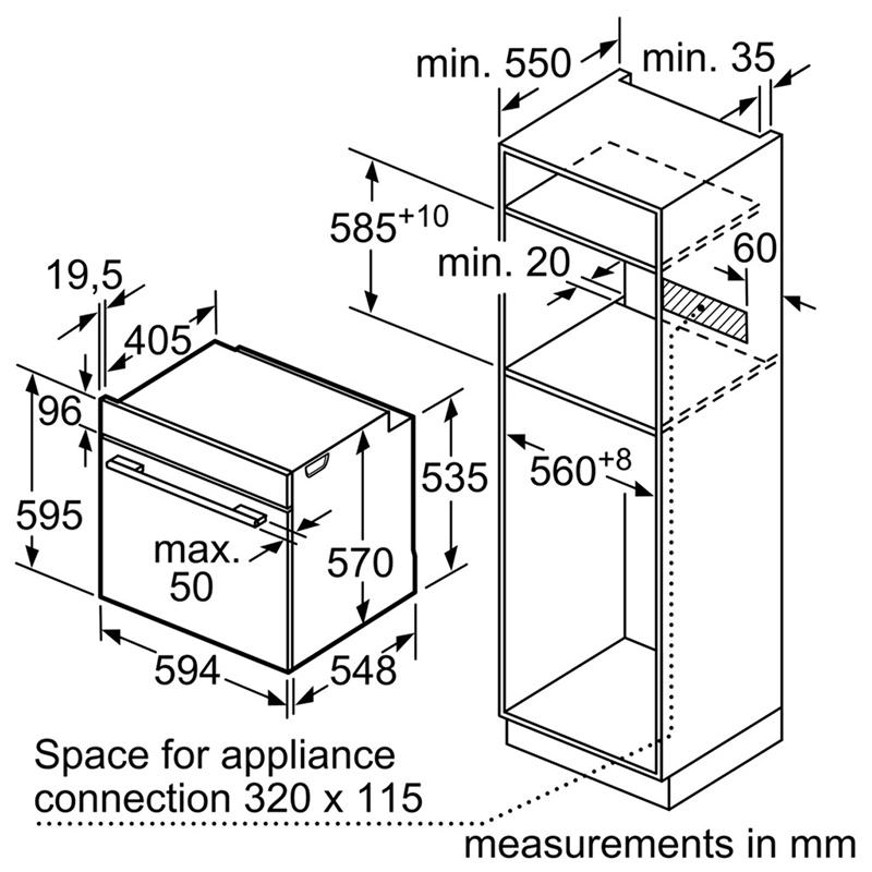 Lò nướng Bosch HBA5570S0B0