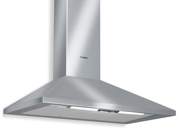 Máy hút khỏi khử mùi Bosch DWW061451 phù hợp với những căn bếp rộng rãi
