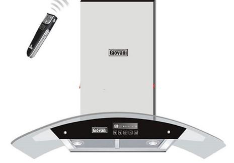 Máy hút mùi ống khói Giovani G-2370 RS
