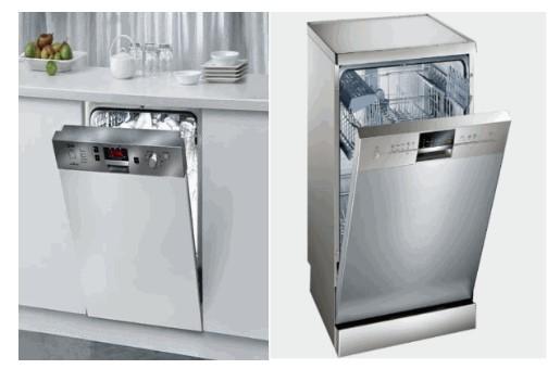 Máy rửa bát âm tủ được đánh giá cao về tính thẩm mỹ