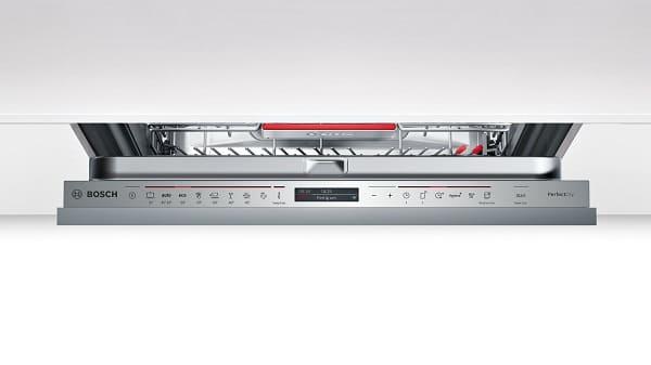 Bảng điều khiển và bàn phím của máy rửa bátBosch SMV68TX06E