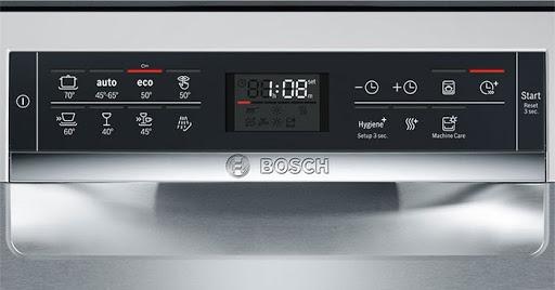 Bảng điều khiển của máy rửa bát Bosch SMS68MI04E
