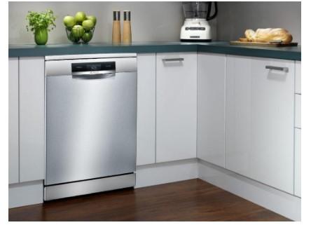 Thiết kế sang trọng và hiện đại máy rửa bát Bosch SMS88TI40M