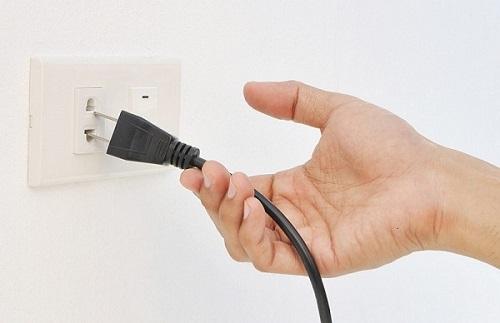 Nguồn điện luôn phải đảm bảo để máy được hoạt động ôn định