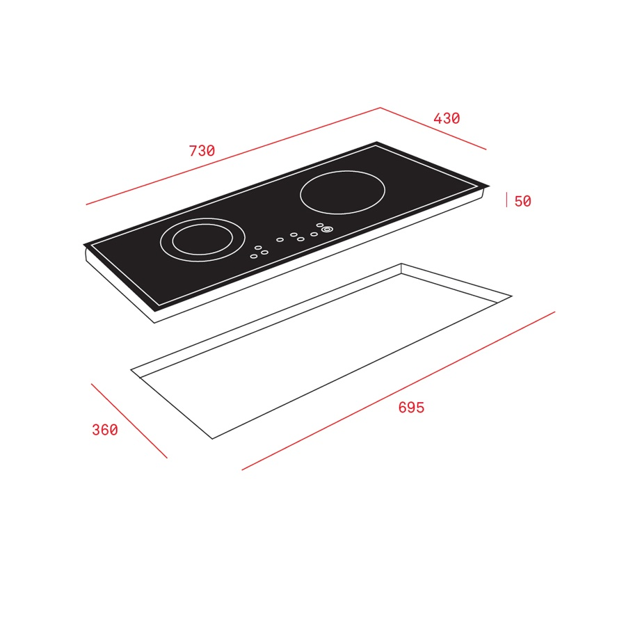 Bếp từ Teka IR 721 SR0