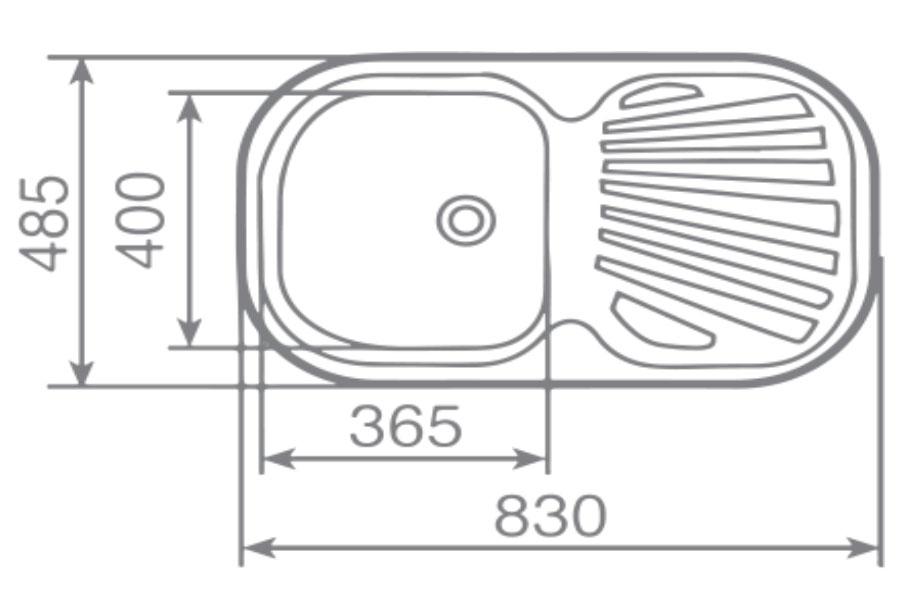 Chậu rửa inox TEKA STYLO 1B.1D (1C.1E)0