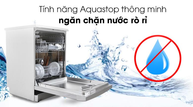 Công nghệ Aqua Stop thông minh giúp máy rửa bát chống lại sự rò rỉ của nước