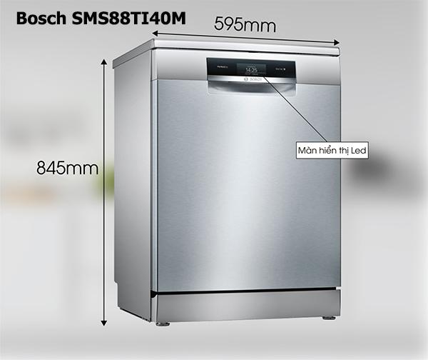 Bosch SMS88TI40M dòng bếp cao cấp mới nhất của hãng Bosch,