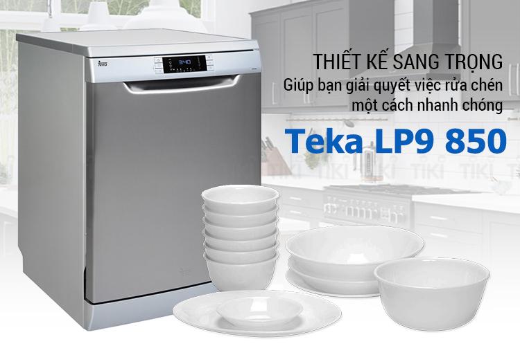 Một trong những máy rửa bát chén Teka được tìm kiếm nhiều trên google
