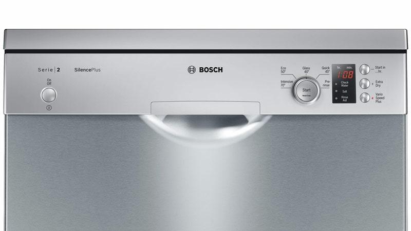 Bosch SMS25EI00G dễ dàng sử dụng