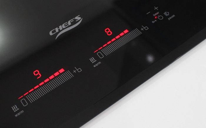 Hình ảnh bàn phím của bếp từCHEFS EH-DIH888