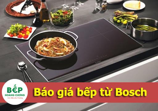 Bếp từ của hãng Bosch được ưa chuộng nhất hiện nay