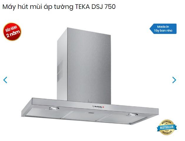 Chế độ bảo hành máy hút mùi Teka DSJ 750 24 tháng theo tiêu chuẩn nhà sản xuất
