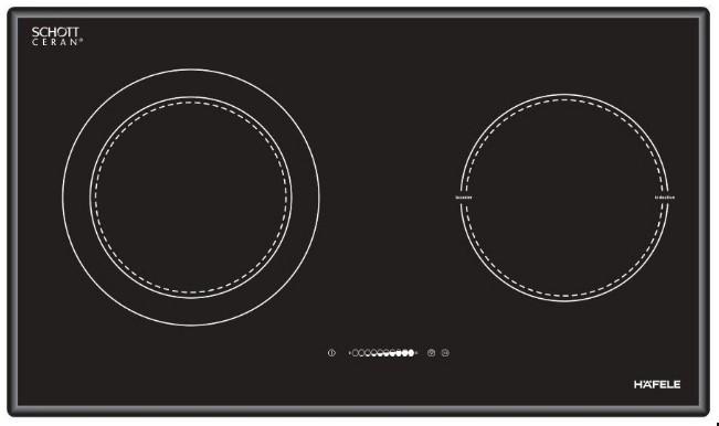 Hình ảnh thực tế bếp Hafele HC-M772B 536.01.815