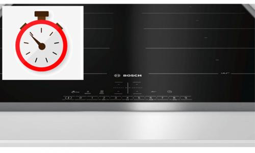Bosch PID631BB1E có chức năng hẹn giờ