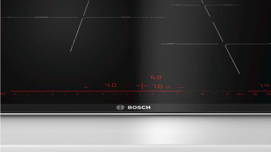 Bảng điều khiển bếp từ Bosch PID775DC1E với đầy đủ chức năng