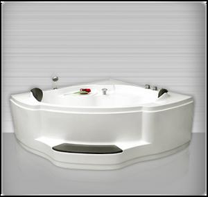 Bồn tắm góc massage đôi Tân Á RB802P