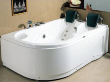 Bồn tắm thẳng massage Tân Á RB807P