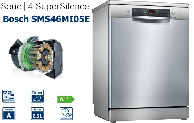 Bosch SMS46MI05E là một trong thiết bị máy rửa bát được đánh giá cao