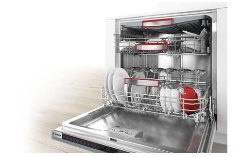Cấu tạo máy rửa bát gia đình khá đơn giản