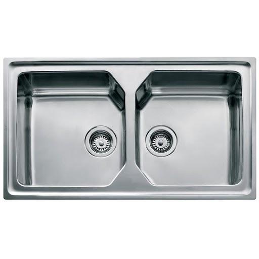 Chậu rửa TEKA PREMIUM 2B thiết kế hai chậu rửa có kích thước giống nhau