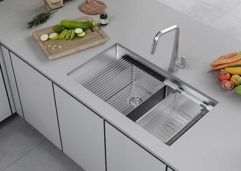 Bộ chậu rửa và phụ kiện Hafele HS21-SSD2S90M