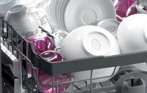 Chức năng sấy khô được thực hiện ở cuối chu trình rửa bát
