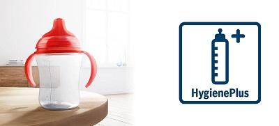 Ký hiệuHygiene Plus trên máy rửa bát