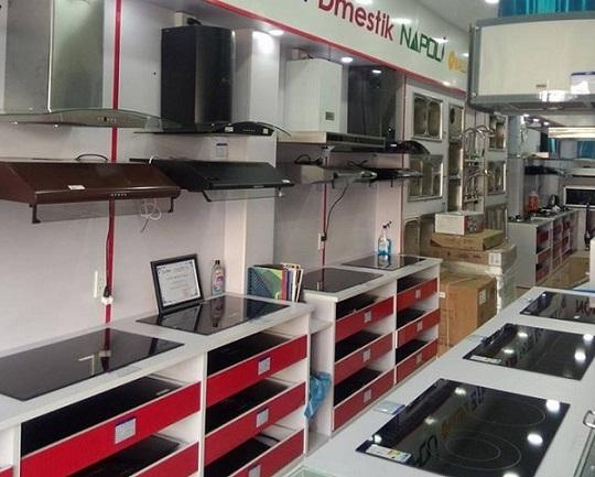 Cửa hàng bán bếp từ uy tín, chất lượng tại Chợ Đồn- Bắc Kạn
