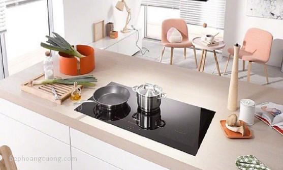 Bếp từ mang đến căn bếp không gian sang trọng