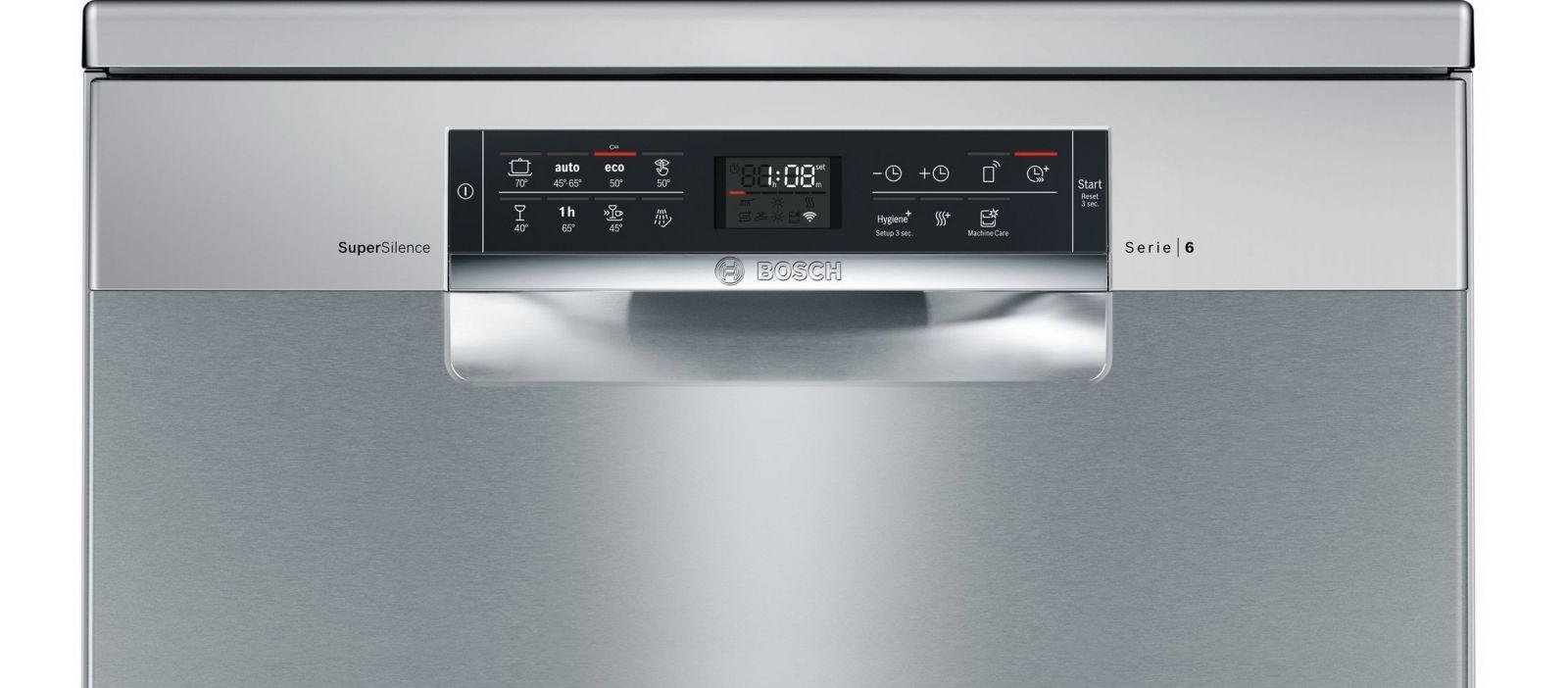 Máy rửa bát Bosch SMS68MI06E ứng dụng công nghệ hiện đại