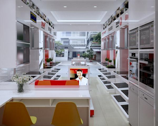 Showroom bán bếp từ uy tín, chất lượng tại Hồng Dân