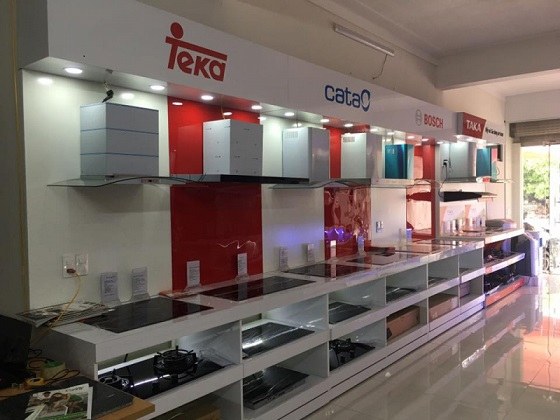 Cửa hàng bán bếp từ uy tín tại thành phố Bắc Giang