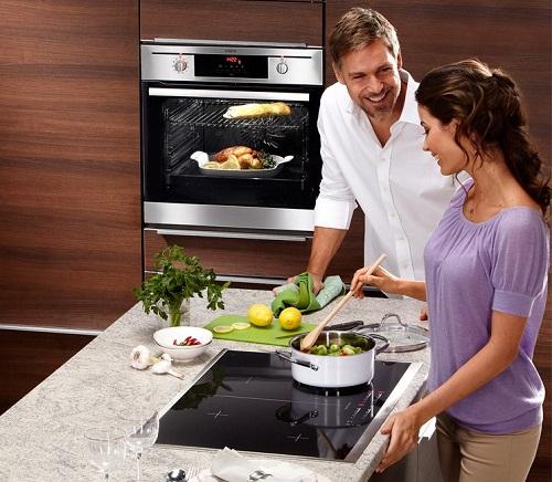 Bếp từ đã trở thành thiết bị được nhiều người dân nơi đây chọn lựa
