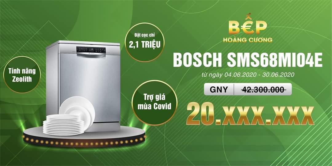 Giá sập sàn khi mua máy rửa bátSMS68MI04E seri 6 cao cấp