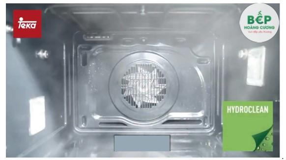 Công nghệ vệ sinh tự động Hydroclean® PRO độc quyền của Teka