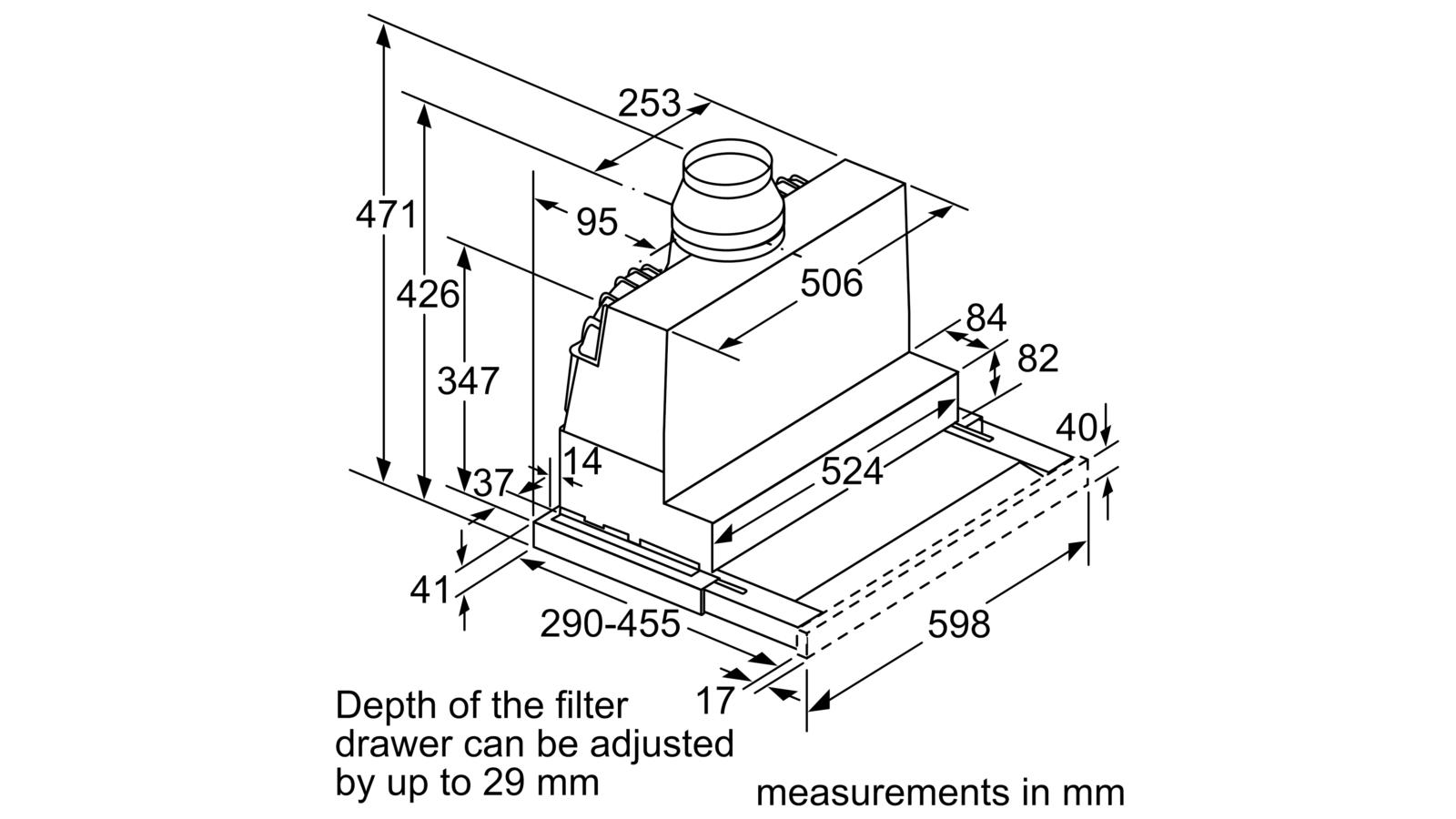 Hút mùi Bosch DFS097A51B1
