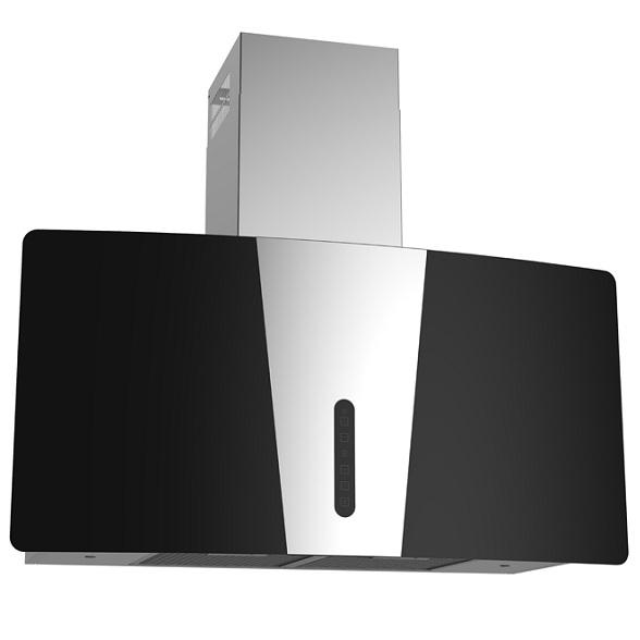 Máy hút khử mùi kính cong Chefs EH-Narsis90T