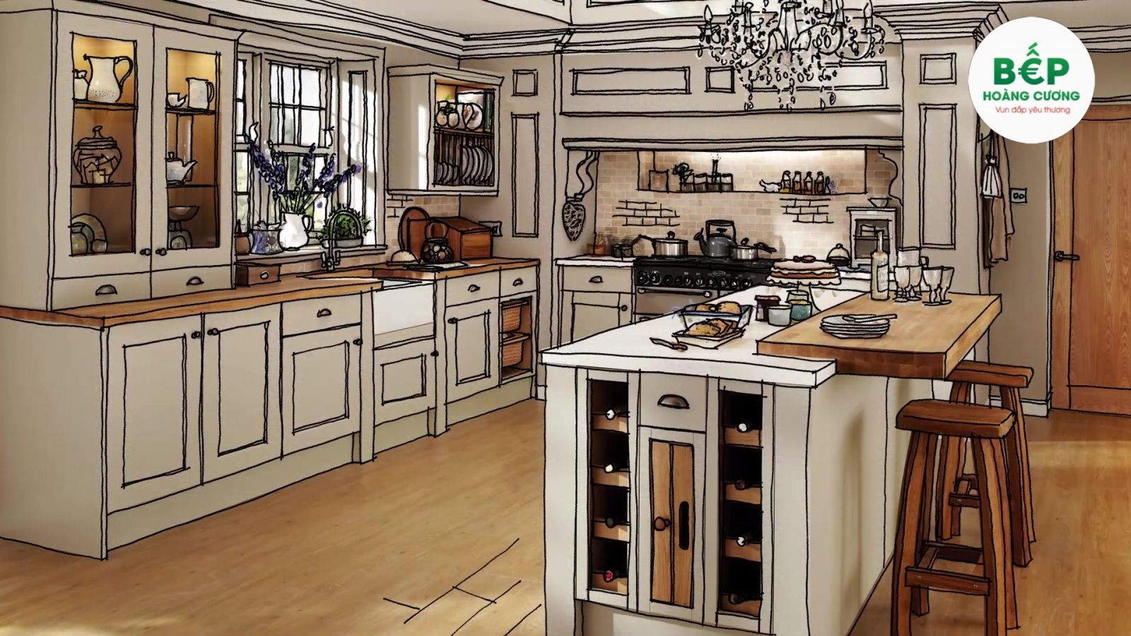 Khảo sát tư vấn lắp đặt thiết bị bếp tại nhà