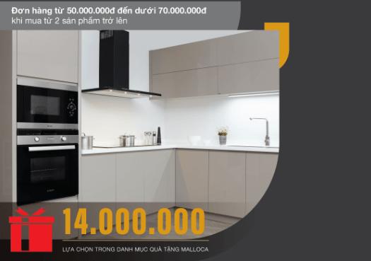 Khuyến mại lớn khi mua thiết bị nhà bếp Malloca-5