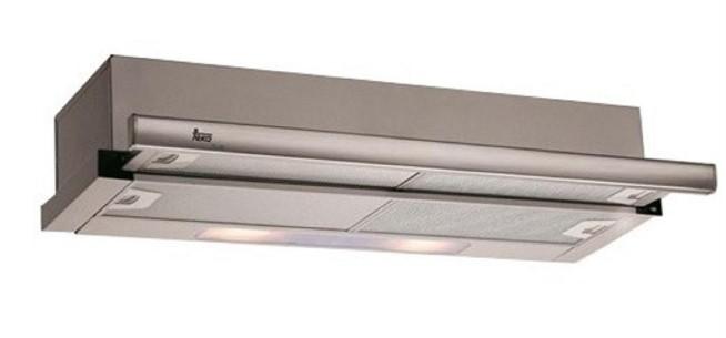 Máy hút mùi Teka 60cm, 70cm giúp tiết kiệm diện tích hiệu quả.
